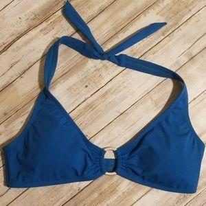 JANTZEN Turquoise Bikini Top Size 12